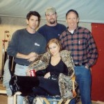 Rigging Carmen Electra on the TV series HOPE & FAITH