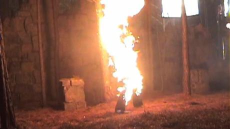 burning series vampire
